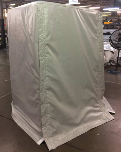 Insulated Box Cover.